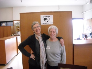 Marie and Francesca- Activity Volunteers
